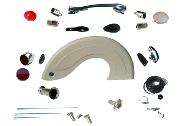 Steib Sidecar Fender Parts & Accesories