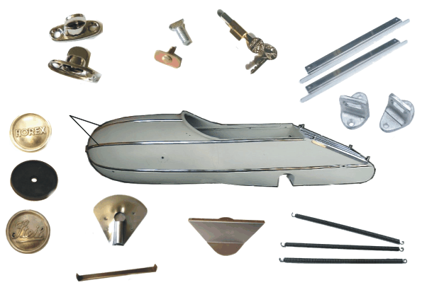 Steib Sidecar Boat S350 Parts & Accesories