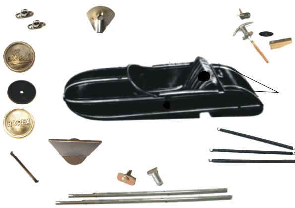 Steib S 500 Boat Parts