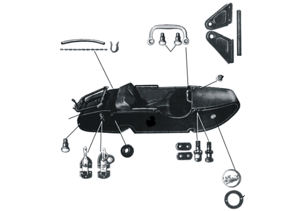 Steib TR 500 Parts for Boat