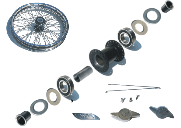 Wheel with small Hub