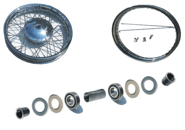 Wheel with Brakedrum