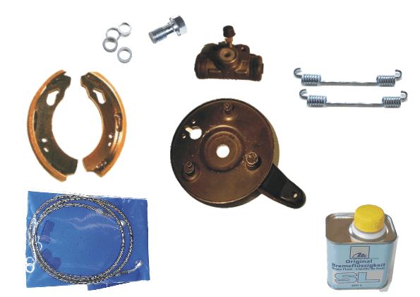 Brake backing Plate 160 mm