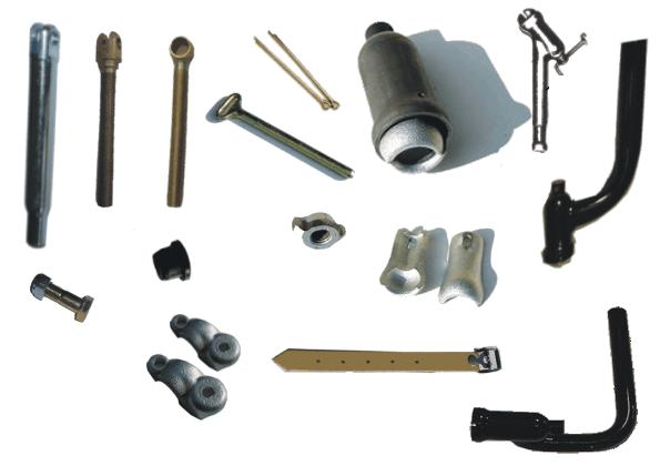 Sidecar Mounting hardware
