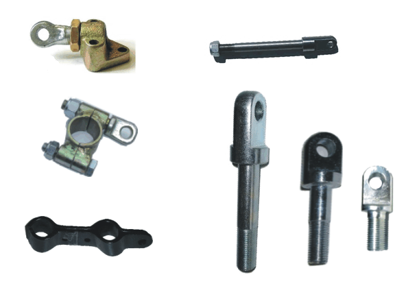 Mounting Hardware with Ballhead-Bolt