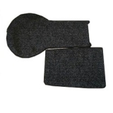 Steib sidecar boot carpet set 2 pieces anthracite S350 / S500